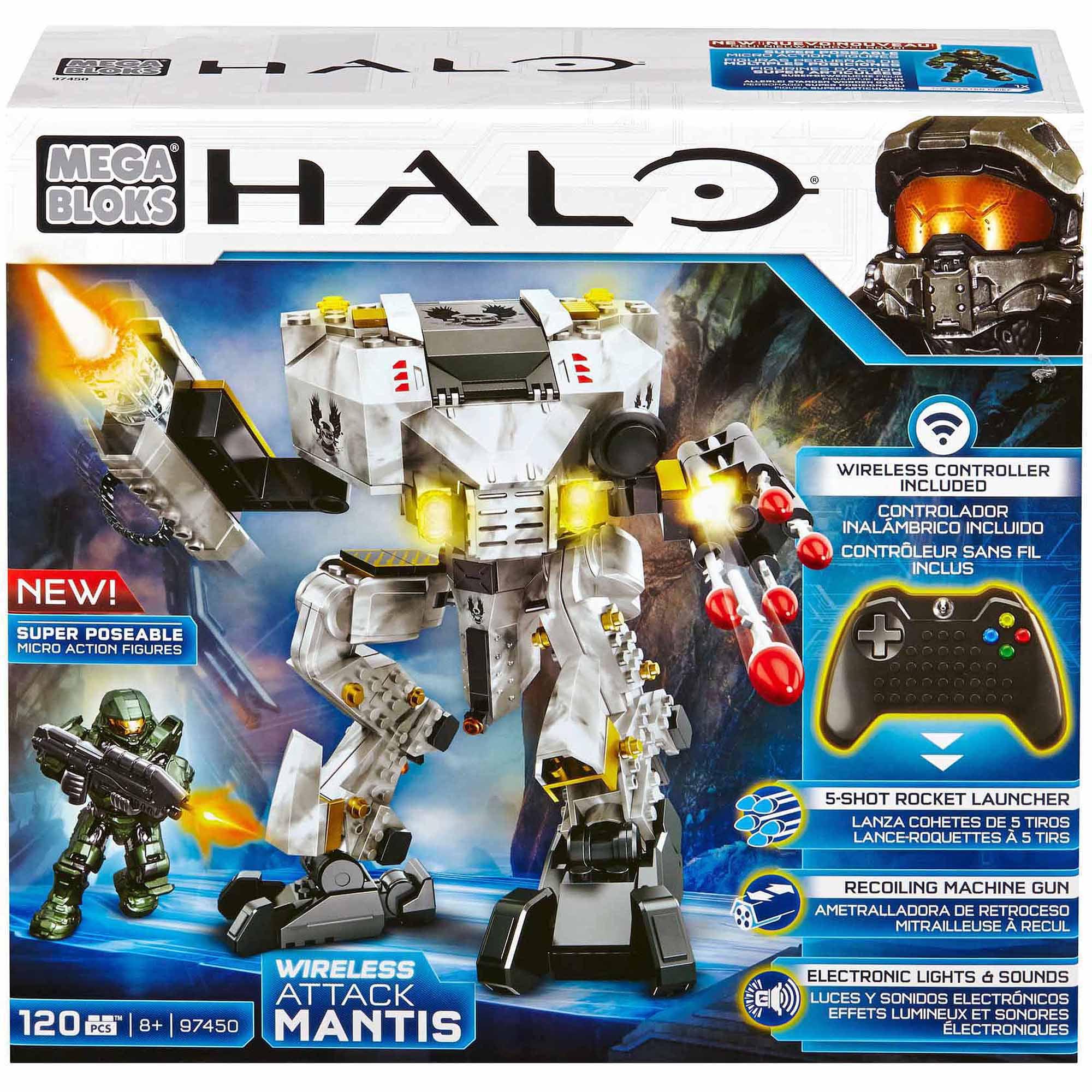 Mega Bloks Halo UNSC Auto Mantis Attack by Mega Bloks
