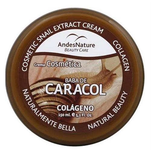 Andes Nature Cosmetic Snail Extract Cream, 5.12 oz (Pack of 3)