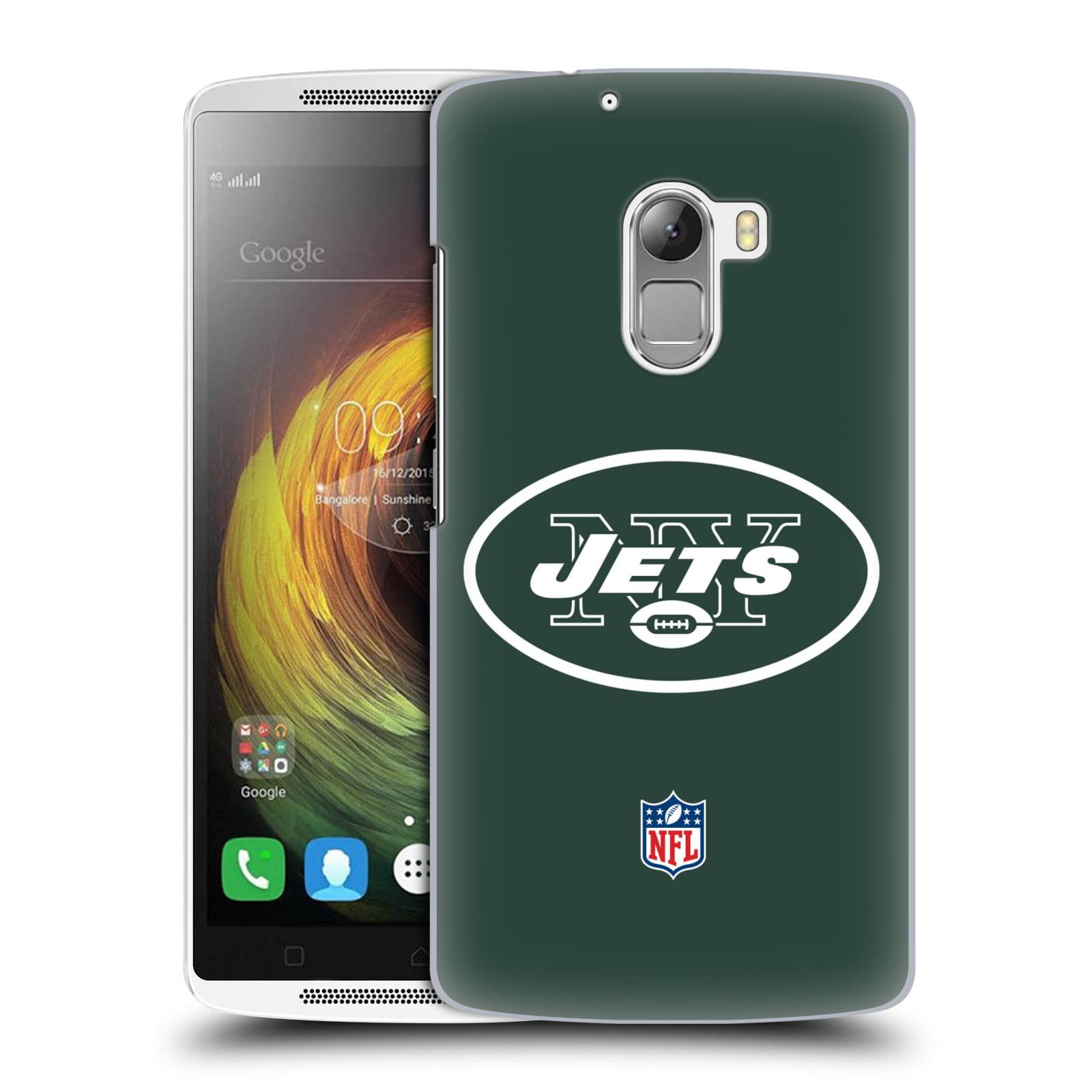OFFICIAL NFL NEW YORK JETS LOGO HARD BACK CASE FOR LENOVO PHONES