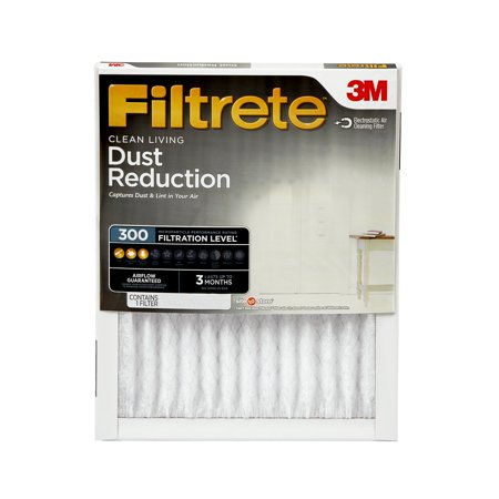 Furnace Cleaning Kit (Filtrete 16x25x1, Clean Living Dust Reduction HVAC Furnace Air Filter, 300 MPR, 1)