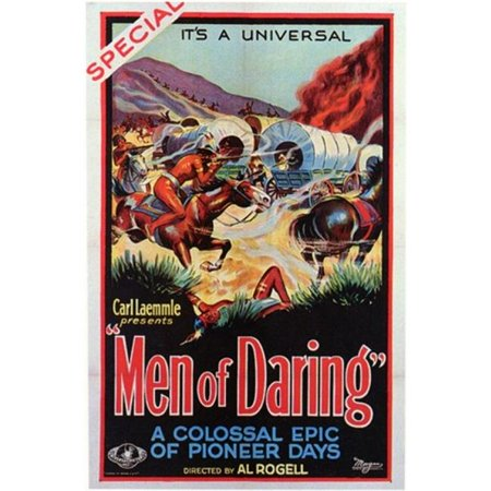 Pop Culture Graphics MOV200124 Men of Daring Movie Poster, 11 x 17 - image 1 of 1