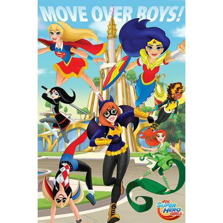 DC Superhero Girls - DC Comics Poster / Print (Move Over Boys 2) (Size: 24