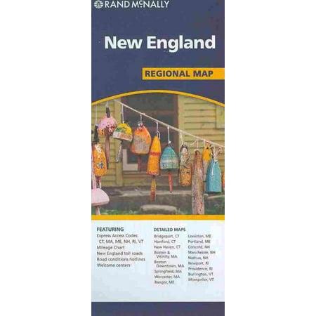 Rand mcnally new england regional map - folded map: 9780528881855 - New York Regional Mormon Singles Halloween Dance