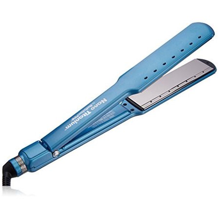 Babyliss Pro Nano Titanium 1 5   Flat Iron  Blue