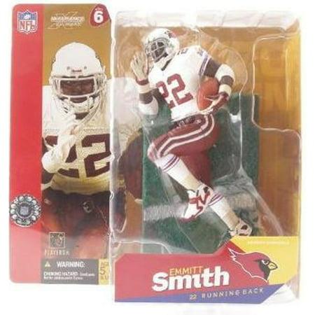 McFarlane NFL Sports Picks Series 6 Emmitt Smith Action Figure [White Jersey Red Gloves]