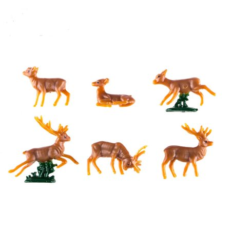 Miniature Reindeer Mini Projects Cake Cupcake Decoration Accessories - Cupcake Accessories