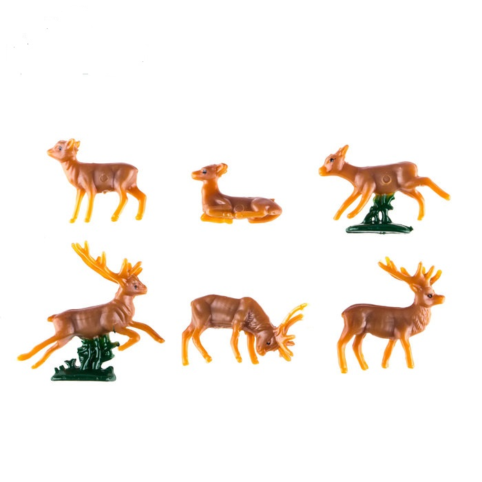 Miniature Reindeer Mini Projects Cake Cupcake Decoration Accessories