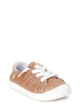 Wonder Nation Casual Bump Toe Sneaker (Toddler Girls)