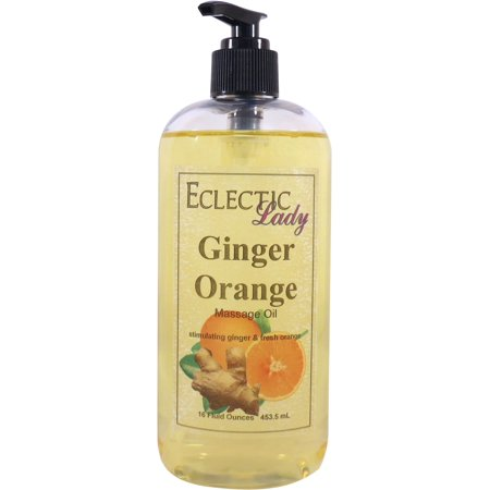 Ginger Orange Massage Oil, 16