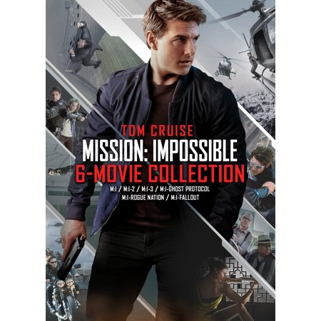 Mission: Impossible - 6-movie Collection (DVD) - Halloween Movie Series Box Set