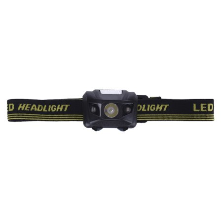 Hiking Headlamp Torch Fishing With Headband LED 3 Modes Lighting Head