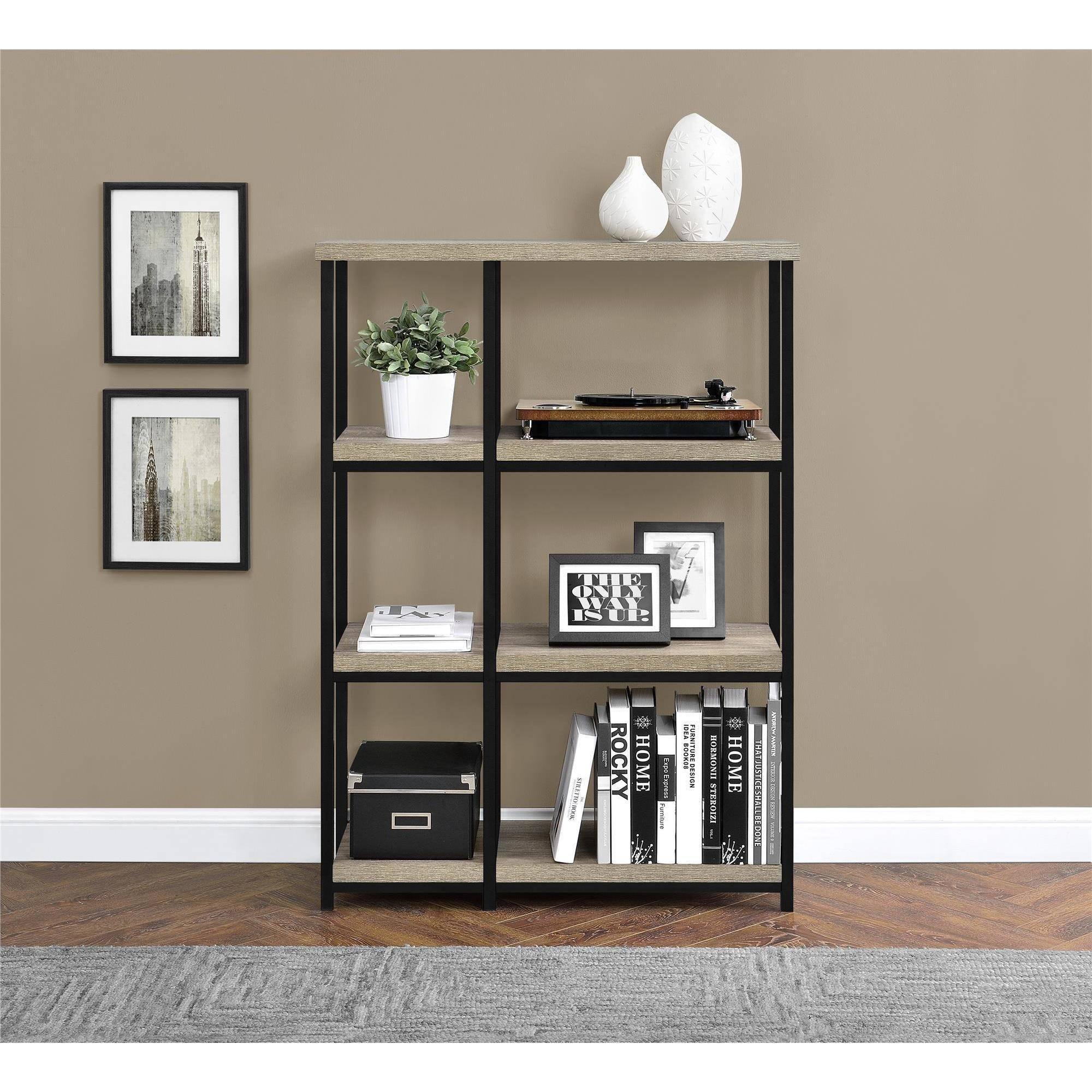 Elmwood BookcaseRoom Divider Sonoma Oak Walmartcom