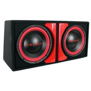 "Crunch CR212A Powered Dual-12"" Subwoofer System"