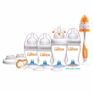 Munchkin�LATCH Newborn Bottle Gift Set, BPA-Free