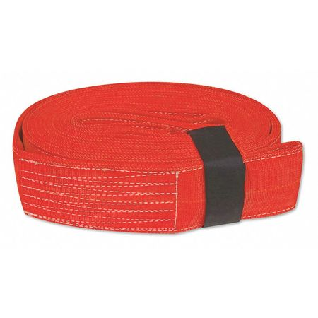 """TOW STRAP 4""""x30' 40,000 lb. (USA!) with Hook & Loop storage fastener"""