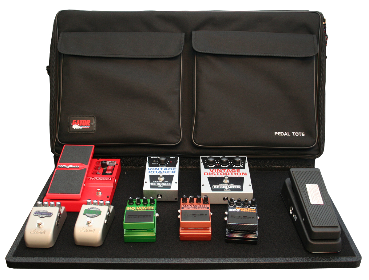 Gator Cases Pro Size Pedal Boards with Carry Bag and Power Supply by Gator