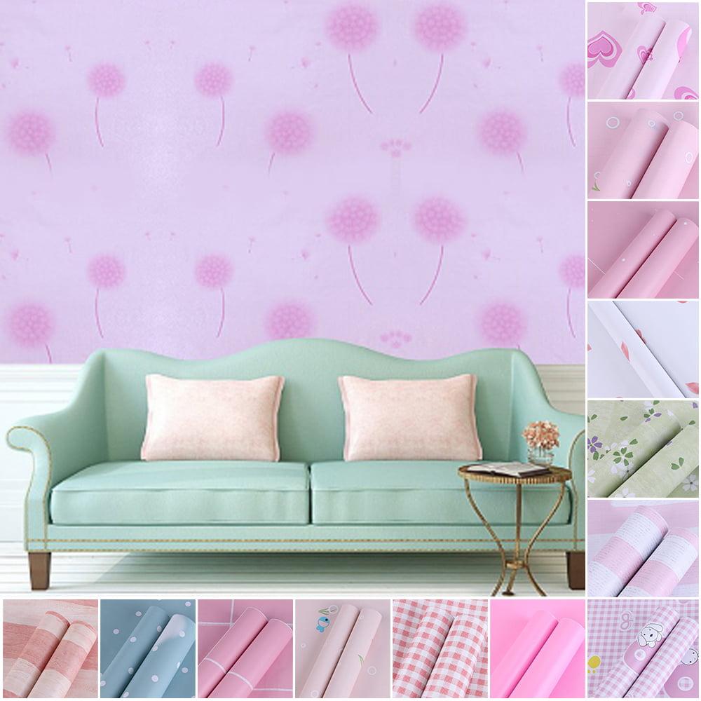 10m Wallpaper Roll Modern Textured Embossed Wall Sticker Home Decor Walmart Com Walmart Com