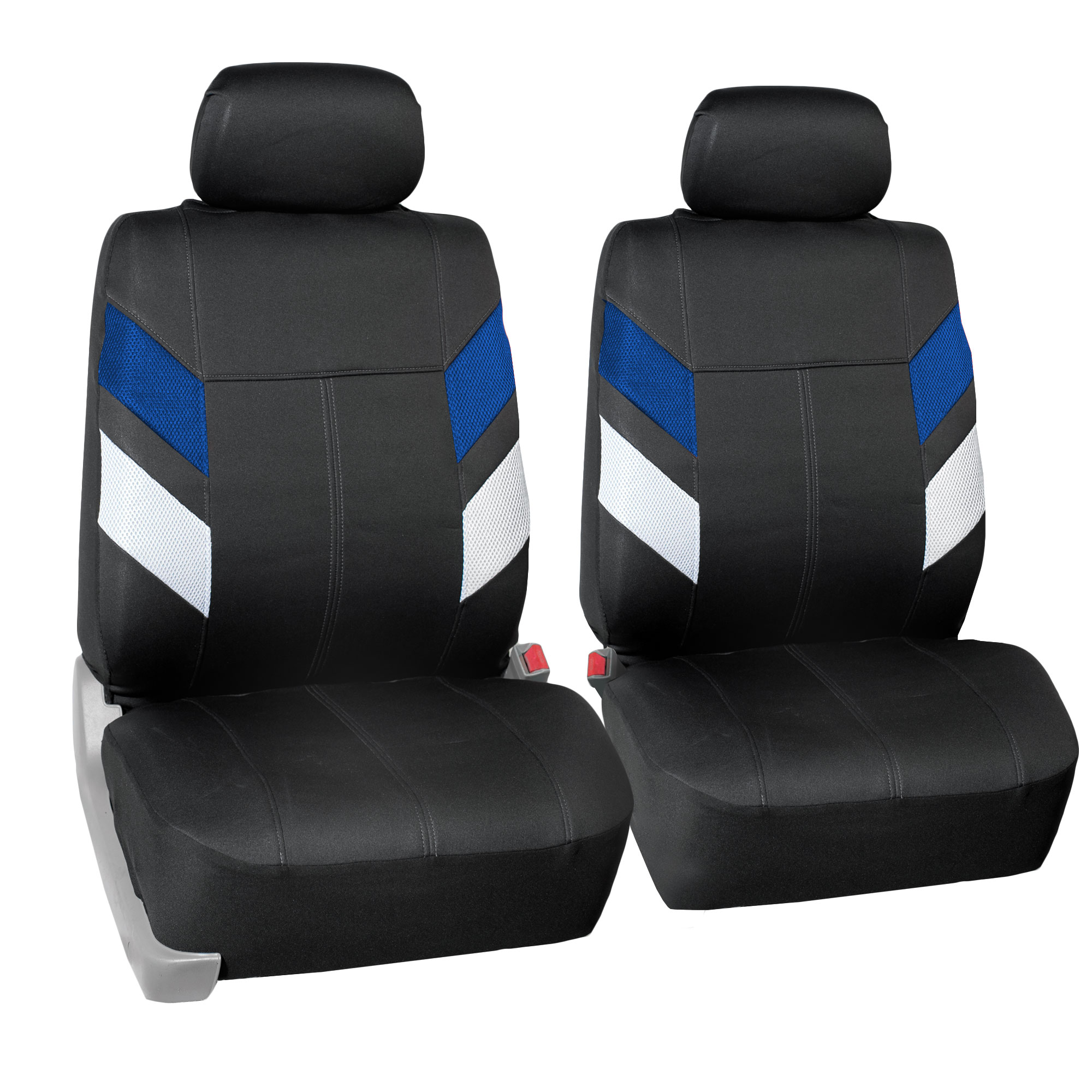 FH Group, Neoprene Car Seat Covers for Auto Car SUV Van Front Bucket 12 Colors