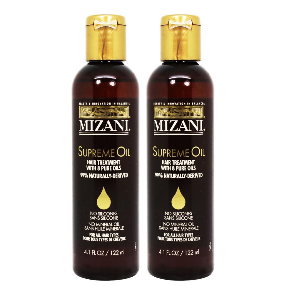"Mizani Supreme Oil Hair Treatment, 4.1oz ""Pack of 2"""