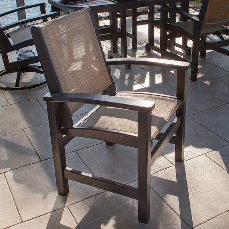 Awesome Polywood Coastal Patio Dining Chair Dailytribune Chair Design For Home Dailytribuneorg