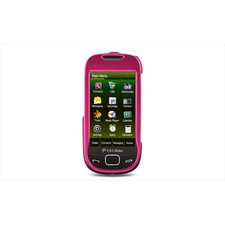 Dreamwireless Crsamr850hp Samsung Caliber   R850 Crystal Rubber Case  44  Hot Pink