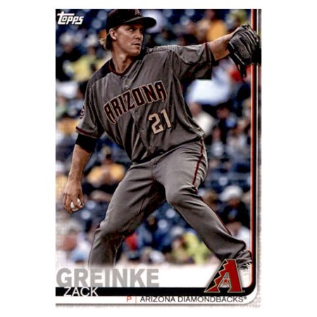 2019 Topps Team Edition Arizona Diamondbacks #AD-1 Zack Greinke Arizona Diamondbacks Baseball