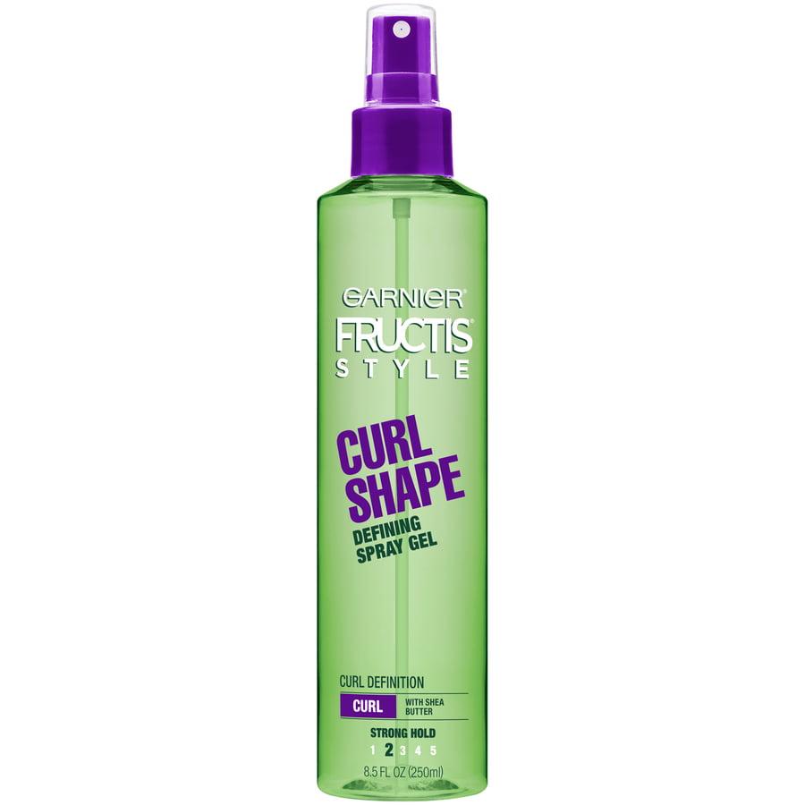 Garnier Fructis Style Curl Shape Strong Hold Defining Hair Gel Spray 8 5oz Walmart Com Walmart Com