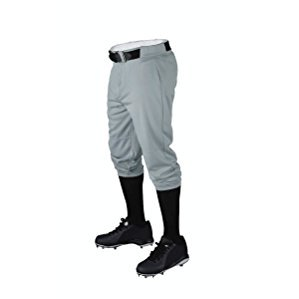Wilson Youth Baseball Zipper Pants with Elastic Waistband and Belt