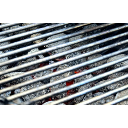 LAMINATED POSTER Barbecue Grill Hot Charcoal Grill Carbon Embers Poster Print 24 x 36 ()