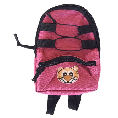 "Backpack Pink Teddy Bear Shoes Fits Most 14"" - 18"" Build-a-bear and Make Your Own Stuffed Animals"
