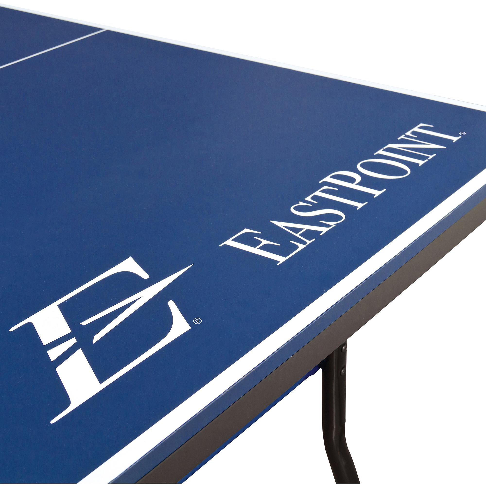 EastPoint Sports EPS 3000 2 Piece Table Tennis Table U2013 18mm Top    Walmart.com