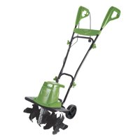 Martha Stewart Electric Garden Tiller/Cultivator | 16-Inch | 13.5-Amp | Adjustable Height