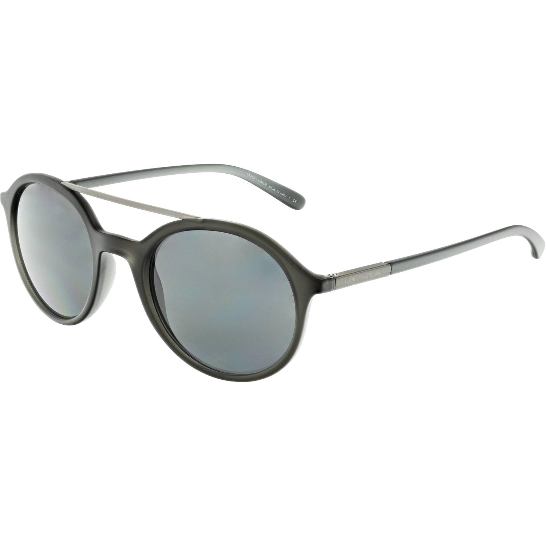 d6b9110e00d Giorgio Armani Men s AR8077-548387-50 Black Round Sunglasses