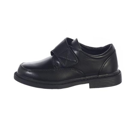 Toddler Boys Black Velcro Matte Special Occasion Dress Shoes - Special Occassion Shoes