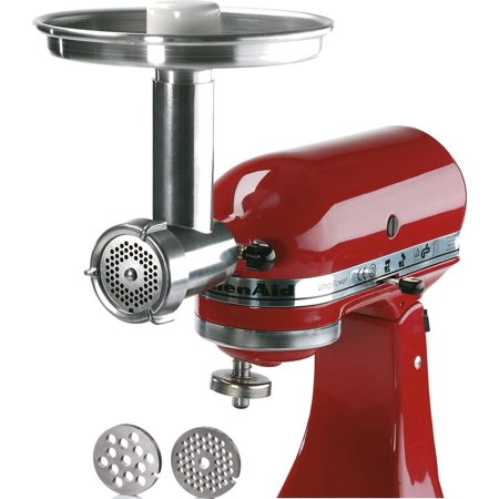 Jupiter metal food grinder attachment for kitchenaid stand mixers 476100 - Walmart kitchen aid stand mixer ...