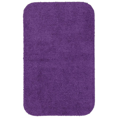 Mainstays Basic Bath Rug, Solid