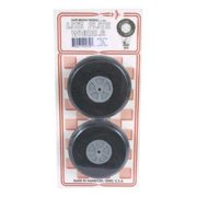 """Dave Brown Products Treaded Lite Flite Wheels, 3-1/2"""""""