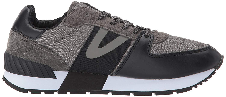 Tretorn Men's LOYOLA7 Sneaker, Black/Grey, Size 10.0