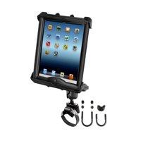 ATV UTV Short Arm Strap Mount fits Apple iPad 1 2 3 & 4 in LifeProof or Lifedge Cases