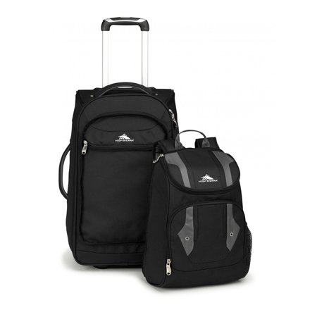 CARRY ON WHEELED BACKPACK BLACK/CHARCOAL
