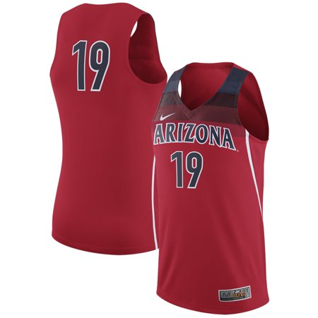 - Arizona Wildcats Nike College Replica Basketball Jersey - Red