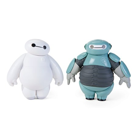 Big Hero 6 First Battle Suit Baymax Chibikko Collection Plus PVC Figure Set](Big Hero 6 Baymax)