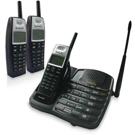 Engenius FreeStyl 1 (3 Handsets) Extreme Range Single Line Cordless (Extreme Rage Single)