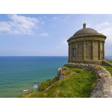Mussenden Temple, Part of the Downhill Estate, County Londonderry, Ulster, Northern Ireland Print Wall Art By Neale Clarke