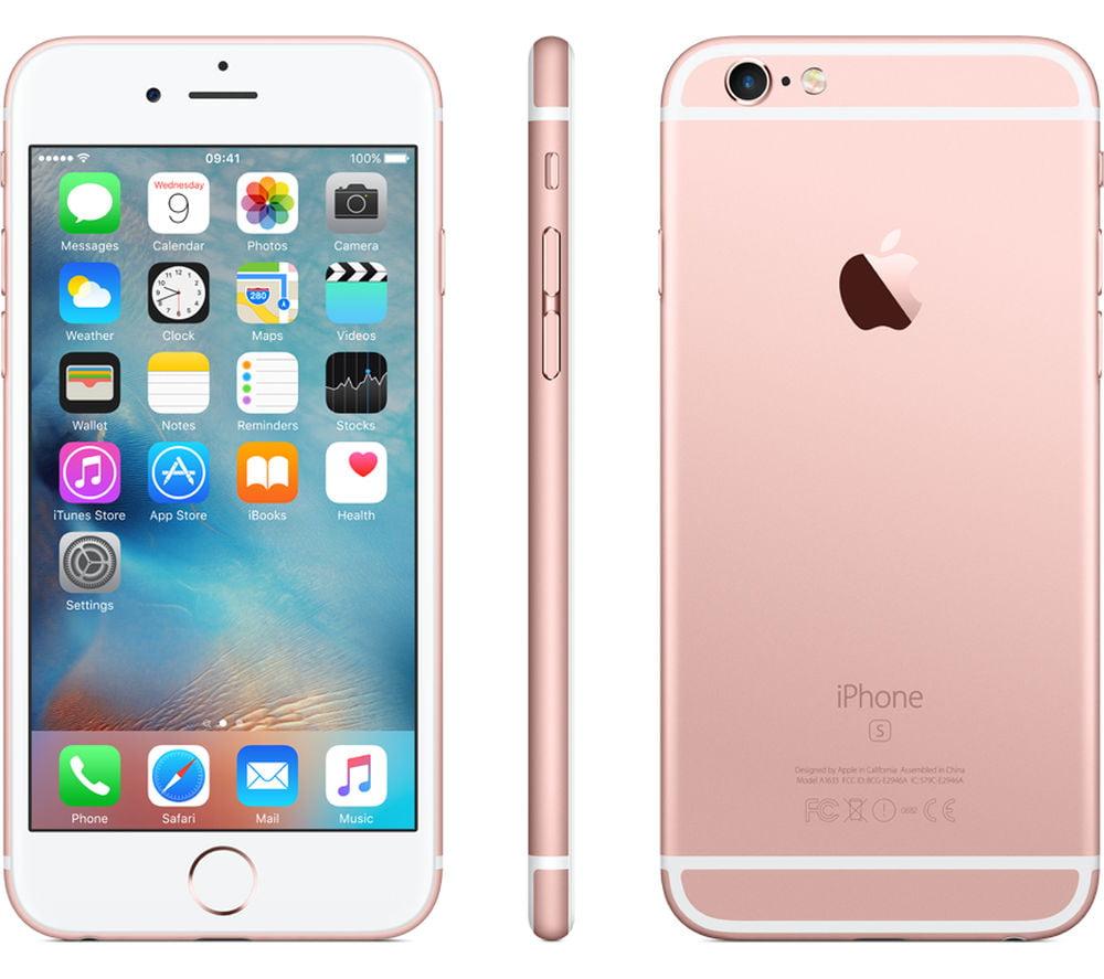Seller Refurbished Apple iPhone 6S 64GB Unlocked GSM iOS Phone Multi ...