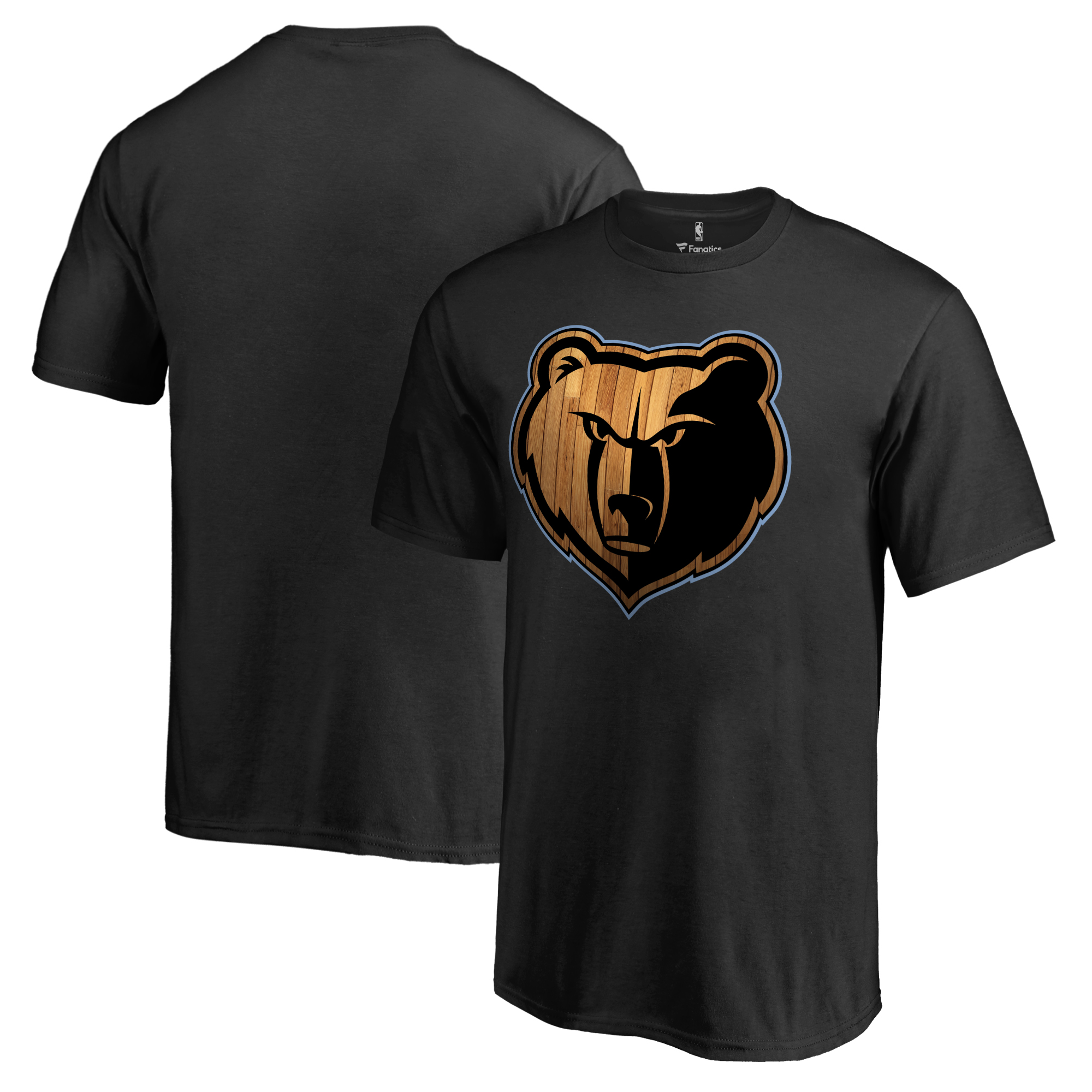 Memphis Grizzlies Youth Hardwood T-Shirt - Black
