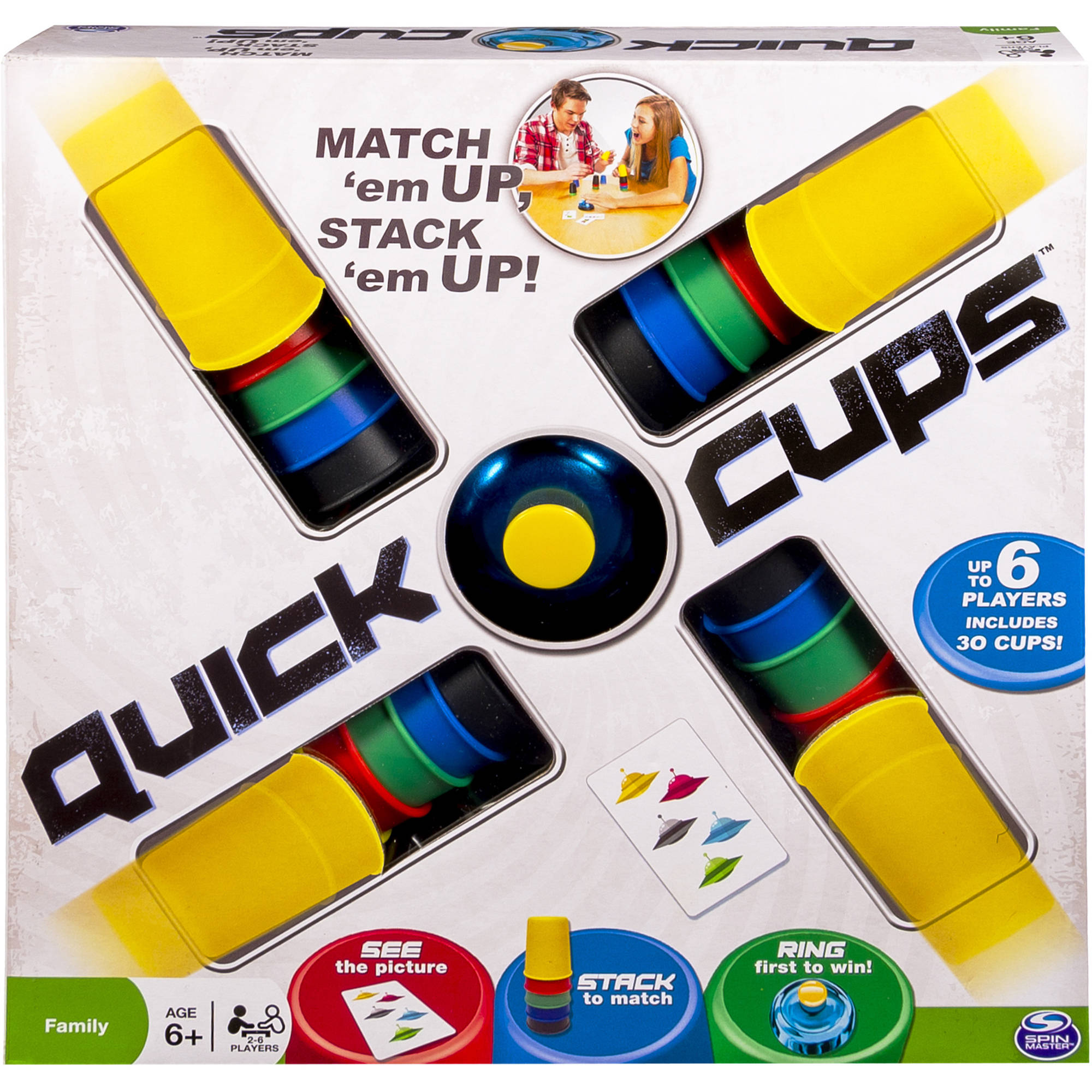 Spin Master Games Quick Cups Game