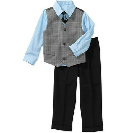 c12b9b89caed George - Baby Toddler Boy 4-Piece Dressy Set - Walmart.com