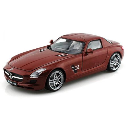 Mercedes-Benz SLS AMG, Chocolate - Motormax 79162 - 1/18 scale Diecast Model Toy Car ()