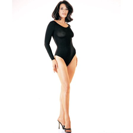 Opaque Long Sleeve Bodysuit LA8578 -